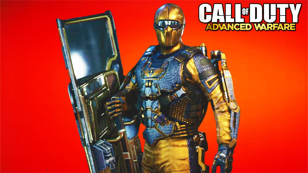 how to get a golden skin advanced warfare