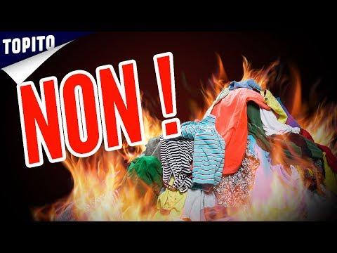 Top 7 des vêtements à brûler durgence