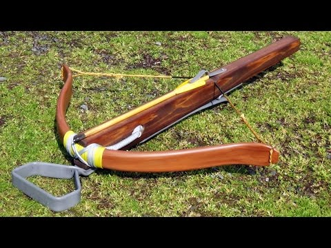Introducing - Medieval Style 100 Pound PVC Crossbow with Skane or Pin Lock