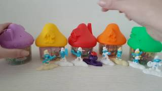 Игрушки Хеппи мил Макдональдс Смурфики Smurfs 3 март 2017