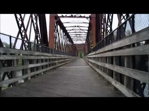 Norwottuck Rail Trail Bridge Northampton, MA