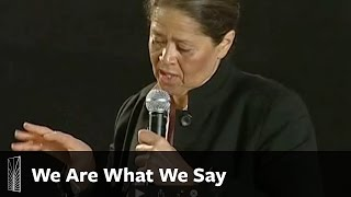 Video We Are What We Say download MP3, 3GP, MP4, WEBM, AVI, FLV Agustus 2017