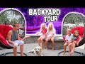 New backyard reveal and tour mp3