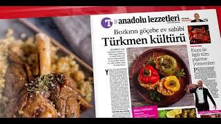 ANADOLU LEZZETLERİ TÜRKİYE GAZETESİNDE