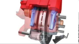 видео Тормозная система автомобиля: передние и задние тормоза
