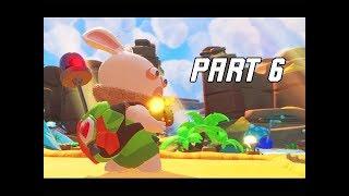 Mario + Rabbids Kingdom Battle Walkthrough Part 6 - SUPPORTER RABBIB (Switch Let's Play)