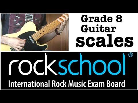 Rockschool Grade 8 Guitar Scales