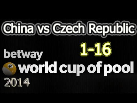 --- China - vs. - Czech Republic --- 2014 World Cup Of Pool 2014