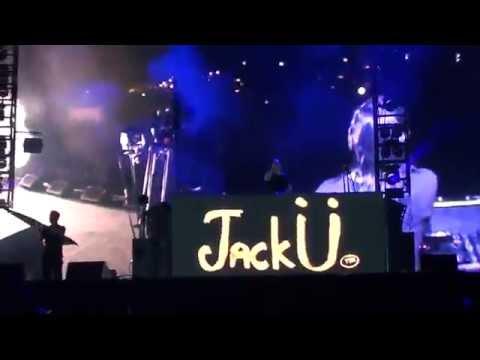Jack Ü + Kiesza - Take Ü there + Febreze LIVE - FEQ 2015/07/09