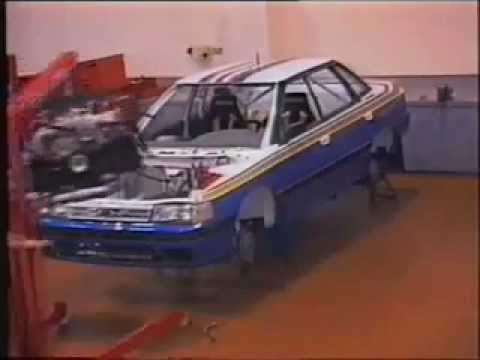 Timelapse Of The Subaru Legacy Rs Group A Rallycar Built By Prodrive