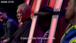 The Voice UK - Blind auditions Tom Jones Help yourself