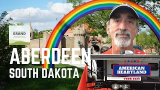 Ep. 156: Aberdeen, Soขth Dakota | RV travel camping Wylie Park Storybook Land