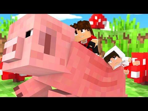 Minecraft: PORCO GIGANTE !! - (Pequenos Gigantes #2)