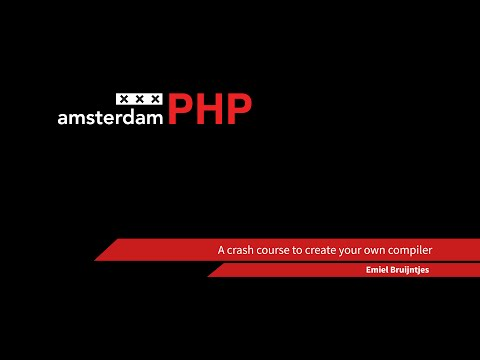 AmsterdamPHP Talk 15-05-2014: Compilers!