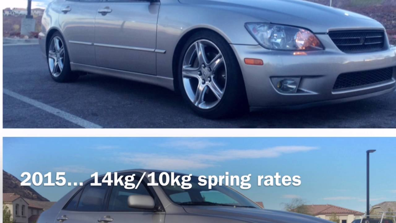 Is300 Stock Height Vs Lowered 2014 10 2015 05 Youtube