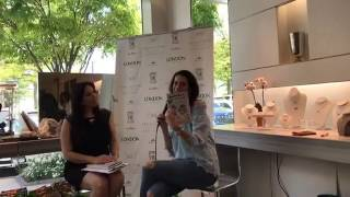 MomTime Live with Lyss Stern at the MomTime Book Party