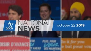 APTN National News October 22, 2019 – Fresh face for Nunavut in Ottawa, First ever Mi'kmaw MP