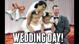 WEDDING DAY!!! -  ItsJudysLife Vlogs