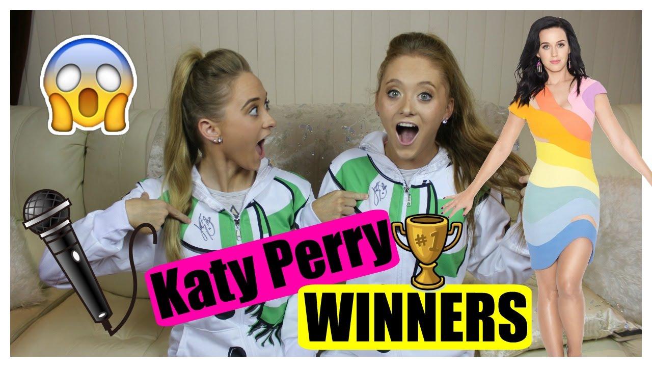 Katy Perry Winners | Beloved Shirts Belovsie | Rybka Twins - YouTube