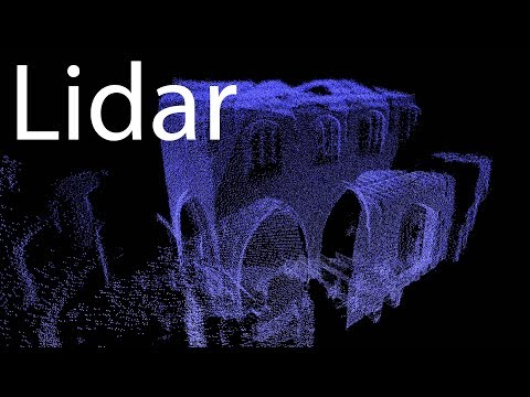Home Made Lidar Church Scan