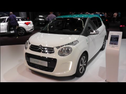 citroen c1 2016 in detail review walkaround interior exterior youtube. Black Bedroom Furniture Sets. Home Design Ideas