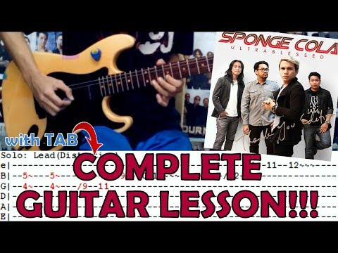 Kay Tagal Kitang Hinintay - Sponge Cola(Complete Guitar Lesson/Cover)with Chords and Tab