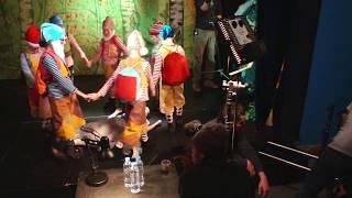 "Артисты школы ""Новый Театр Танца"" участвуют в съёмках фильма ""Знахарь"" на 1 канале."