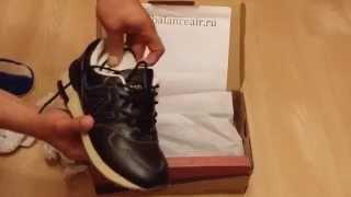 Обзор на кожаные кроссовки New Balance 1400 (Unboxing)