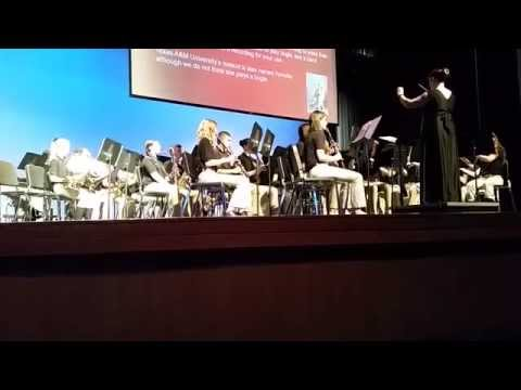 Royse City Middle School Christmas Concert, Symphonic Band