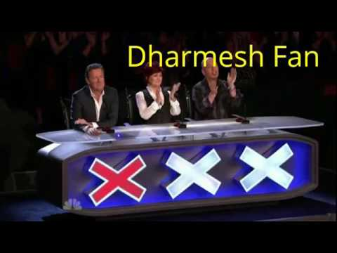 America Got Talent - Dharmesh fan | dance like Dharmesh| 2017 new dance