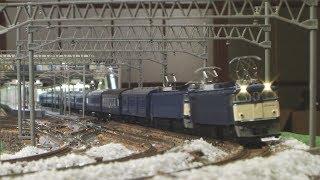 Nゲージ 国鉄 急行「越前」 で夜行列車を懐かしむ