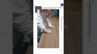 우리혜인이괴롭히기 (테이블 청소하기)♡♡♡