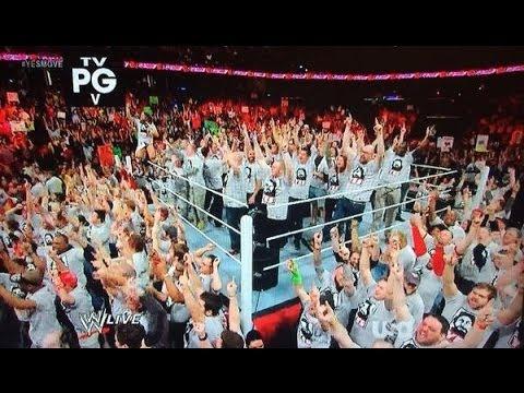 Daniel Bryan Occupy Raw