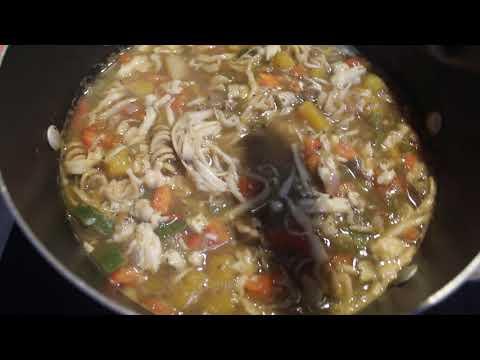 Chicken Noodle Soup | Dr Sebi Approved | Alkaline | Vegan