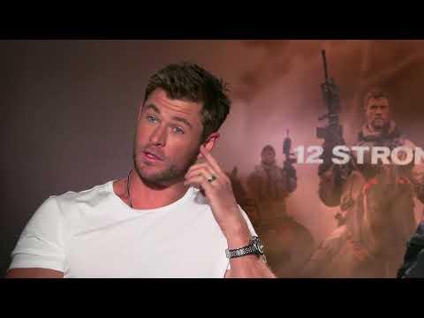 "Showbiz Tonight: Chris Hemsworth in ""12 Strong"""