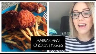 AMTRAK AND CHICKEN FINGERS /// BUFFALO VLOG
