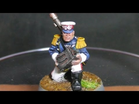 Project Imperial Guard - How to paint a Mordian Iron Guard