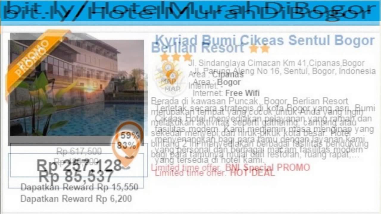 Hotel Murah Di Bogor Fasilitas Kolam Renang Dengan