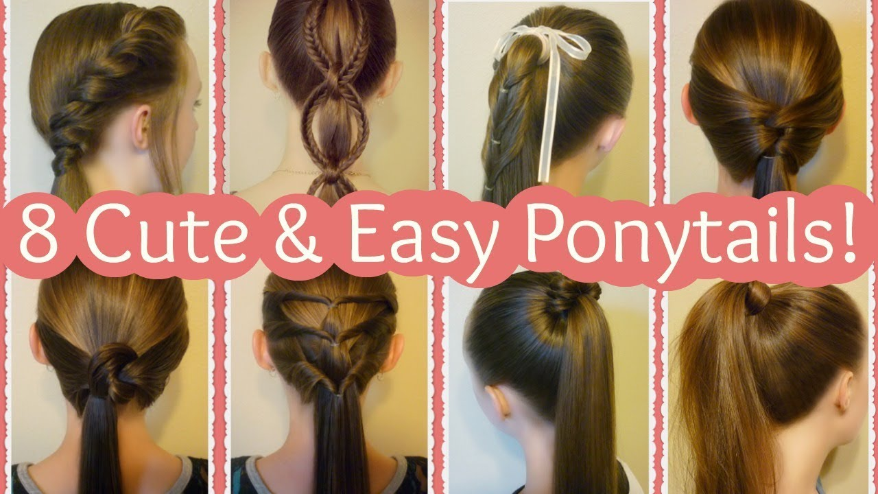 10 Cute Ponytail Hairstyles For Summer!