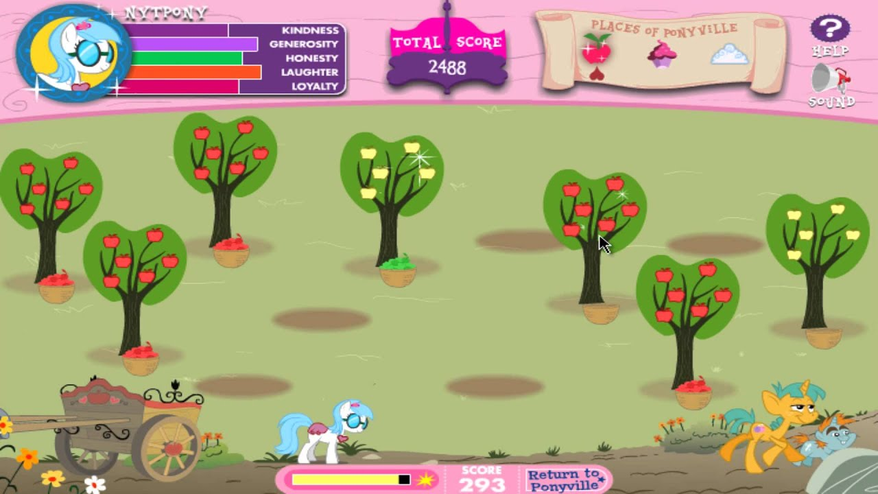 [MLP:FiM] Adventures In Ponyville (Music Edit) [Gameplay