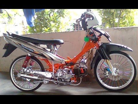 Motor Trend Modifikasi   Video Modifikasi Motor Yamaha Jupiter Z Drag Style Terbaru