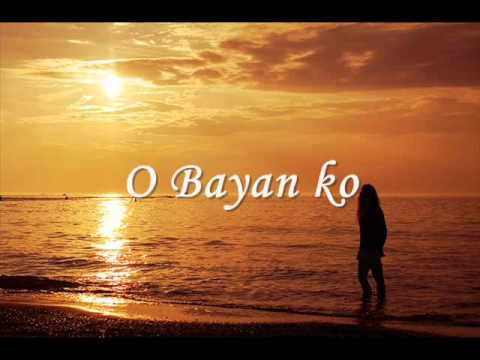 Lea Salonga - Bayan ko translation in English | Musixmatch