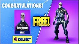How to UNLOCK the Skull Trooper for FREE *2018* in Fortnite Battle Royale! (Skull Trooper Giveaway)