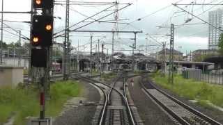 DB Bahn - Führerstandmitfahrt - Nr. 21 - Von Worms Hbf nach Mainz Hbf über Osthofen - BR 143