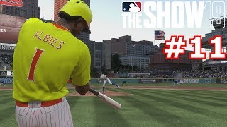 CAN MIKE TROUT FINALLY GET HIS FIRST HIT? | MLB The Show 19 | Diamond Dynasty #11
