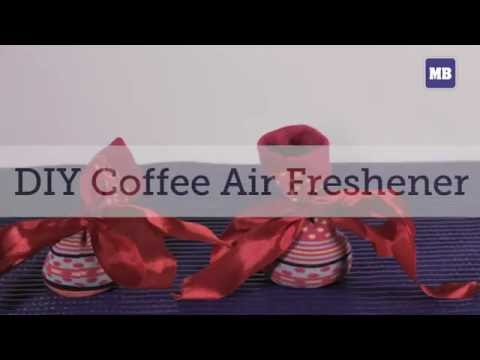 DIY Coffee Air Freshener!