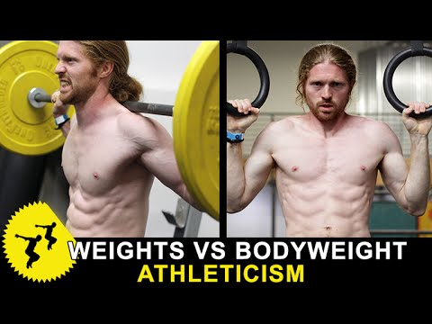 Weights VS Bodyweight For Athleticism & Strength?? - Ask The Tapps