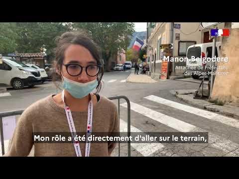 #TempêteAlex À Malaussène, un travail collectif coordonné pour répondre aux besoins des habitants.