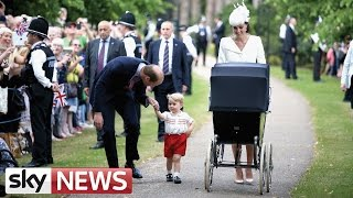 Princess Charlotte Christened
