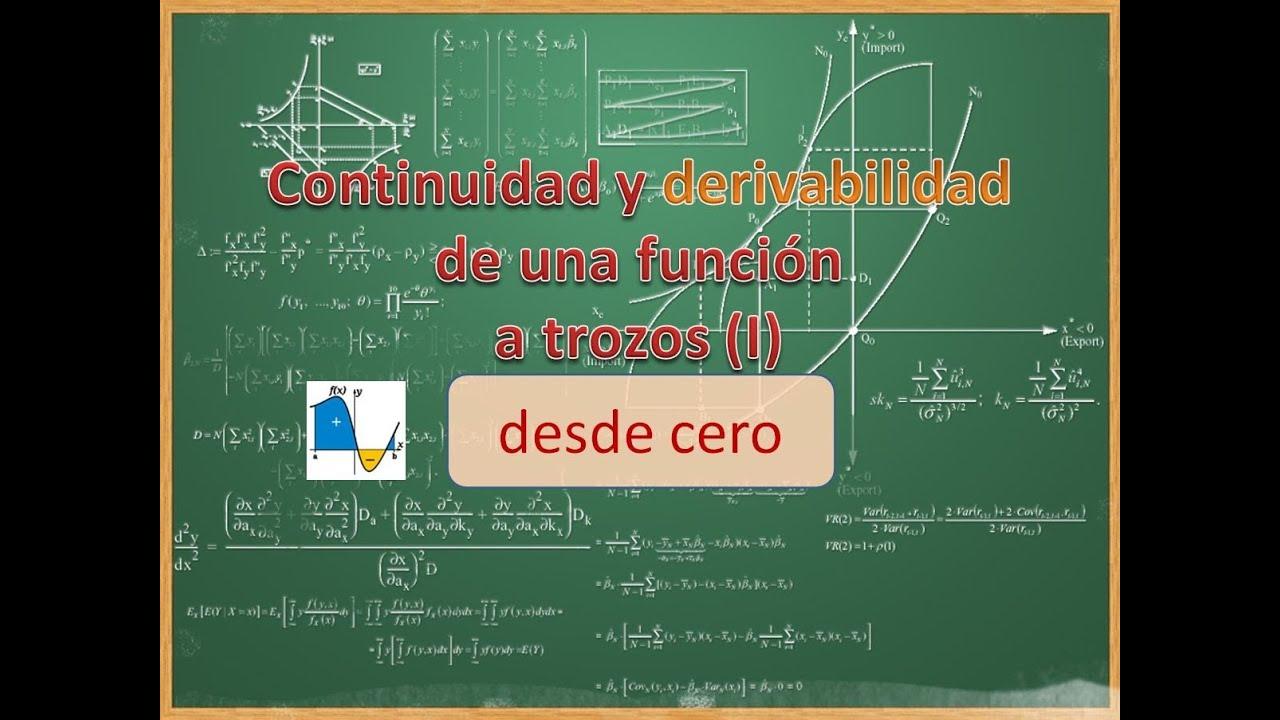 Diferenciabilidad Y Continuidad Pdf